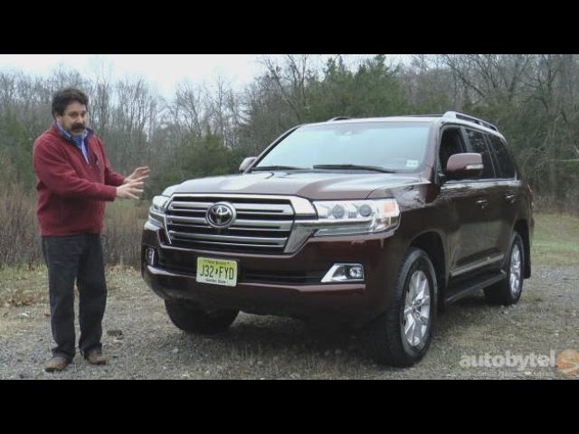 2016 Toyota Land Cruiser Test Drive Video Review - YouTube