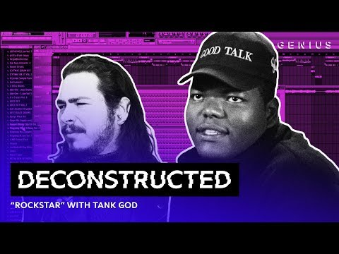 The Making Of Post Malone's rockstar With Tank God | Deconstructed