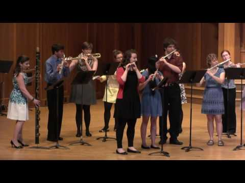 Tarantella (A. Guidobaldi) - Lawrence University Flute Ensemble - 05.15.16