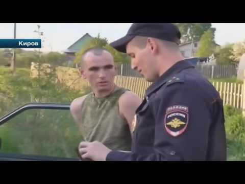 Погоня за пьяным водителем Киров