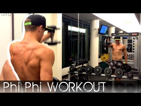 Phi Phi Island Workout at the Gym - What do you do to stay in shape?
