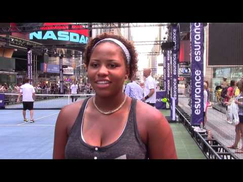 Taylor Townsend Interview   Rankings, Fashion and NY Accents