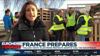 France prepares for more Yellow Vest protests | #EuronewsTonight