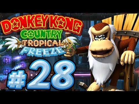 Let's Play Donkey Kong Country Tropical Freeze - Part 28 - Mit Dynamit explodiert die Stimmung!