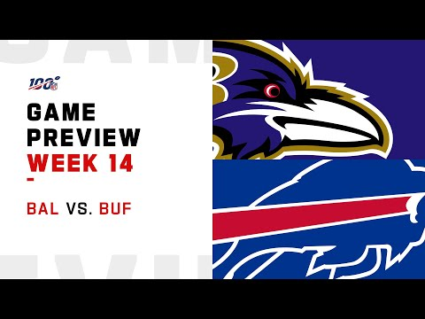 Baltimore Ravens vs Buffalo Bills Week 14 NFL Game Preview