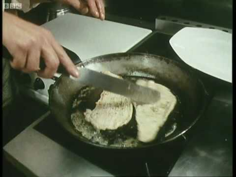 Veal escalope in mustard sauce – Keith Floyd – BBC