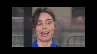 Aubrey Plaza Being Weird Funny Moments