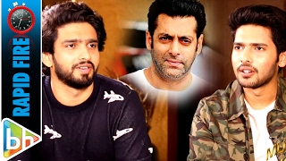 Armaan Malik & Amaal Mallik's MUSICAL Rapid Fire On Salman Khan | Shah Rukh Khan | Varun Dhawan