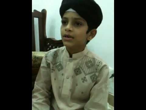 Naat Sarkar (SAW) ki parta hoon mein by Muhammad bin Ahmad