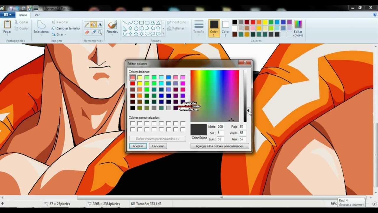 Drawing Gogeta Ssj4 ms Paint Drawing Gogeta in ms Paint