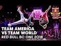 Lagu Team America vs. Team World Full Battle | Red Bull BC One 2018