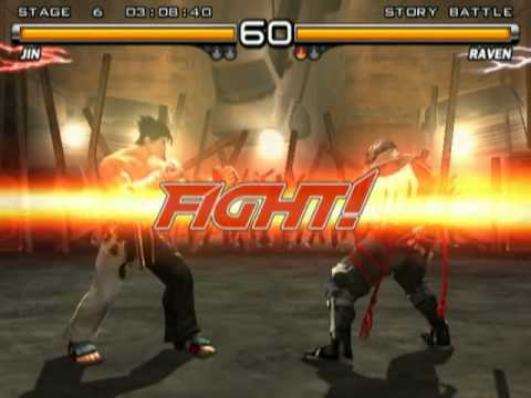 Tekken 5 Jin Kazama Playthrough video