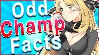 Cynthia's SECRET?? 10 Odd Facts About Pokémon Champions