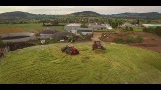 Ensilage maïs XXL BGA | BIG silo en Haute-Loire | 90 hectares en 4 jours avec une Jaguar 870