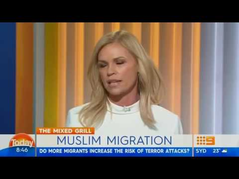 Sonia Kruger says Australia should close it's border to Muslims