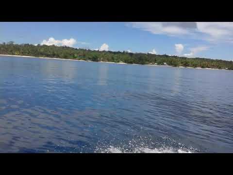 Perjalanan Ke pulau Owi Biak Papua