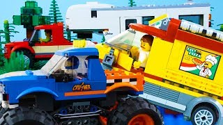 LEGO City Vehicles (COMPILATION 2) STOP MOTION LEGO Monster Truck, Car & More! | LEGO | Billy Bricks