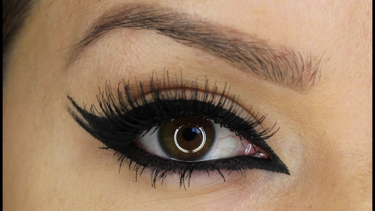 6 eyeliner styles makeup tutorial shonagh scott for Pictures of designs