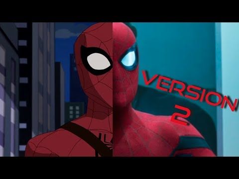Spider Man Homecoming (Spectacular Spiderman Style) Version 2 The Tender Box thumbnail