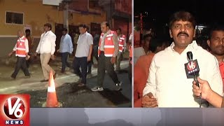 Mayor Bonthu Rammohan Inspects Road Repair And Widening Works In Hyderabad