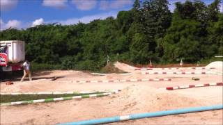 MUGEN SHEIKI R/C MBX7 NITRO TRACK CANCUN MEXICO OFF ROAD RACE PARK CANCUN