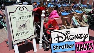 DISNEY STROLLER HACKS! | BEST TIPS FOR USING A STROLLER AT DISNEY! | KINGDOM STROLLERS REVIEW