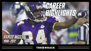 Randy Moss' Ultimate Career Highlight Reel | NFL Legends Highlights