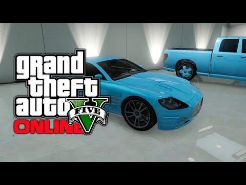 GTA 5 Online: Kifflom Blue Car Color Tutorial! (GTA V)