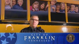 Franklin Police & Williamson County Schools: School Bus Safety