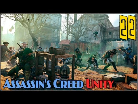 Assassin's Creed Unity: Кафе и Funky #22 (COOP)