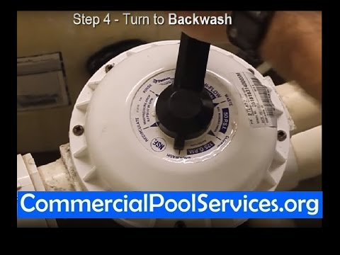 Pool Maintenance Orange County | How to Backwash Your Pool (714)677-8445