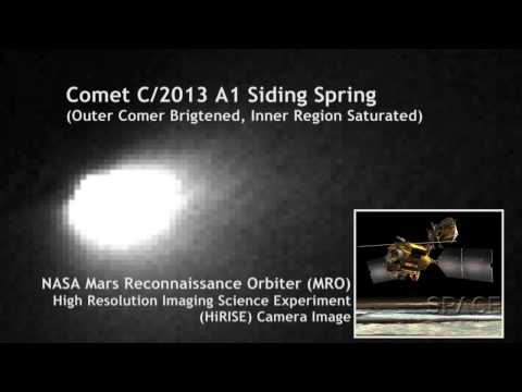 Comet Imaged From Mars' Surface and Orbit | Video