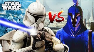 Were Clones Better than the Senate Guards?- Star Wars Explained