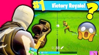 FORTNITE QUICKSCOPES!!! (FORTNITE BATTLE ROYALE SNIPING)