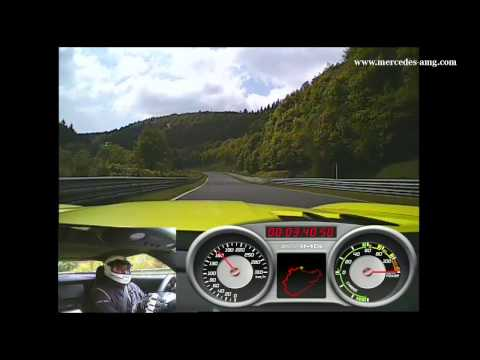 The SLS AMG Electric Drive Record Lap – On-board Video