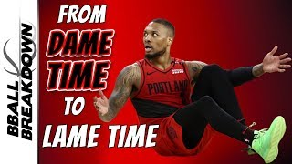 Warriors Turn Dame Time Into Lame Time