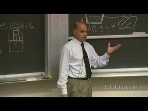 20. Fluid Dynamics and Statics and Bernoulli's Equation