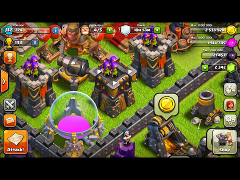 CLASH OF CLANS -BABY CARL TROLL BASE! SEXY/FUNNY REPLAYS