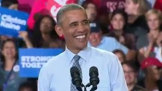 FULL SPEECH: Obama Campaigns for Hillary Clinton at Columbus, Ohio Rally