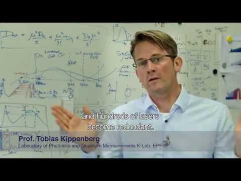 Latsis Prize 2014 awarded to quantum physicist Tobias Kippenberg
