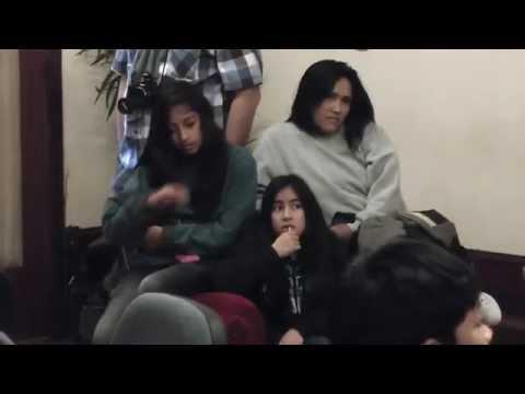 El municipio recibió la visita de una escuela Mapuche