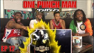 SAITAMA VS LORD BOROS: ONE PUNCH MAN EPISODE 12 REACTION/REVIEW