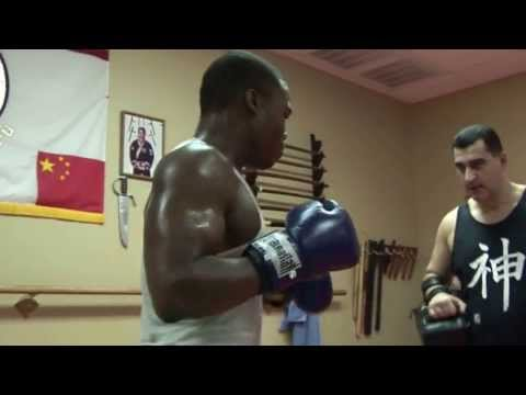Muay Thai Pads workout drills with Msster Mehrdad Image 1