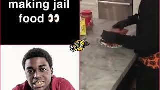 Kodak black making jail food