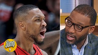 Damian Lillard and a healthy Blazers team would be scary in the playoffs - Tracy McGrady | The Jump