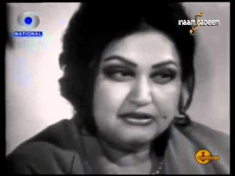 Noor Jehan -- Rare Indian TV Interview (Part 1)