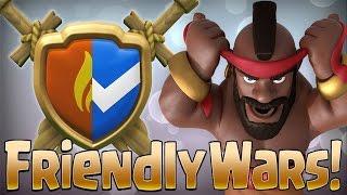 FRIENDLY WARS (Arranged Wars) Introduction | New Update | Sneak Peek 4 | Clash of Clans