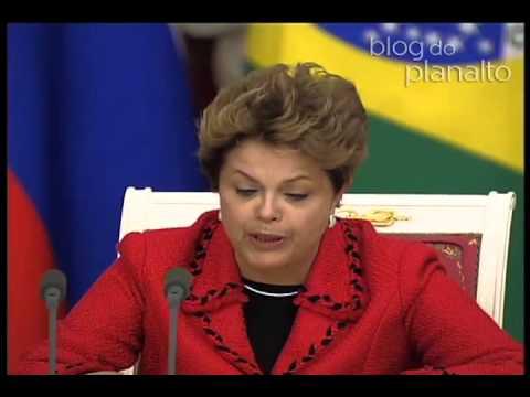 Declaração a imprensa após assinatura de atos entre Brasil e Rússia