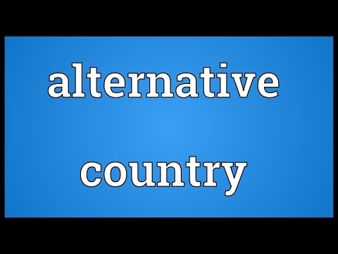 Header of Alternative Country