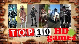 ТОП 10 лучших игр на Андроид  2015 HD
